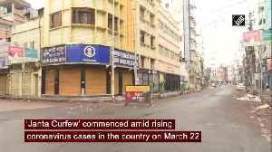 News video: Nationwide 'Janta Curfew' begins on PM Modi's appeal