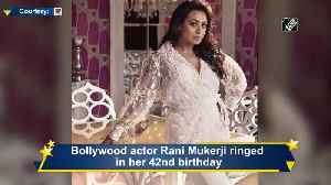 Siddhant Chaturvedi shares adorable picture to wish birthday girl Rani Mukherjee [Video]