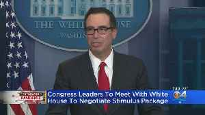 Congress Leaders To Meet With White To Negotiate Stimulus Package [Video]
