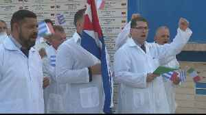 Cuban doctors head to Italy to fight coronavirus