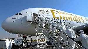 News video: Emirates suspends all passenger flights over coronavirus outbreak