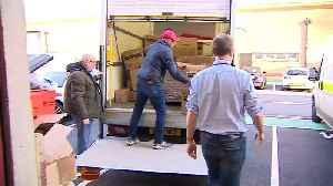Matt Hancock helps deliver PPE to NHS staff [Video]