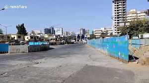 Mumbai streets deserted during coronavirus curfew [Video]