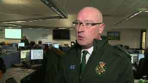 London Ambulance Service busier than New Year's Eve [Video]
