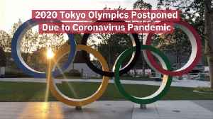 The 2020 Tokyo Olympics Are On Hold [Video]