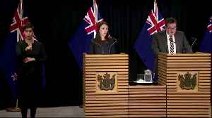 News video: New Zealand announces lockdown over next 48 hours
