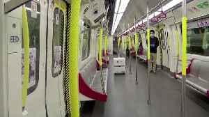Hong Kong deploys robot to disinfect subway [Video]