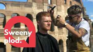 Meet the world's most travelled barber who has trimmed hair around the globe [Video]
