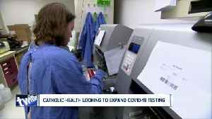 Catholic Health requests two month supply of newly approved rapid COVID-19 tests [Video]