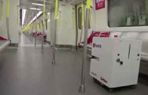 Hong Kong deploys robot to disinfect subway [Video]