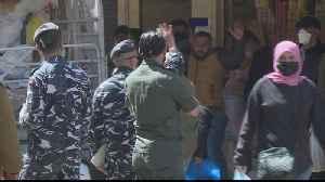 Lebanon army deployed to enforce public lockdown [Video]