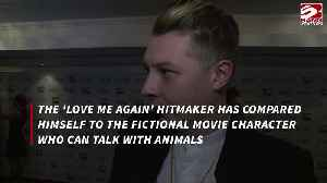 John Newman compares himself to Doctor Dolittle [Video]