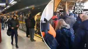London Underground crowded as commuters pack tube stations [Video]