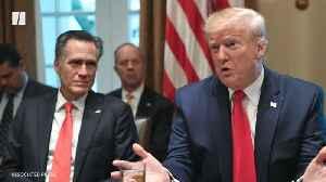 Trump Mocks Mitt Romney's Quarantine [Video]