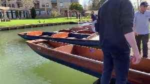 Cambridge's famous punts are being taken off the River Cam for the first time ever [Video]