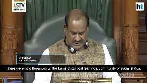 News Story Lok Sabha Applauds [Video]