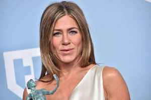 Jennifer Aniston is 'cleaning out her closet' whilst she is in self-isolation [Video]