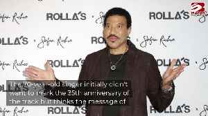Lionel Richie considering charity song [Video]