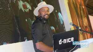 DJ D-Nice Holds Virtual Dance Party With Michelle Obama, Missy Elliott & More | Billboard News [Video]