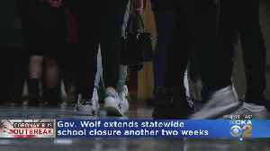 News video: Gov. Tom Wolf Extends School Closures Another 2 Weeks