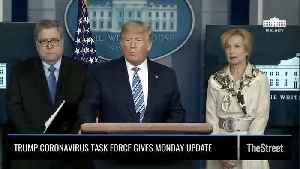 'We're Focused on Victory:' President Trump on Coronavirus Update, Illegal Hoarding of Medical Supplies [Video]