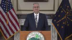 Indiana governor orders residents to stay home due to virus [Video]