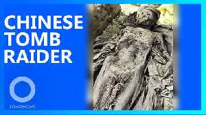 500-year-old well-preserved body dug up in Anhui, China [Video]