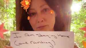 Cancer victim Shannen Doherty slams those ignoring social distancing alerts [Video]