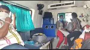 News video: Ambulance caught smuggling passengers across state borders amid India lockdown