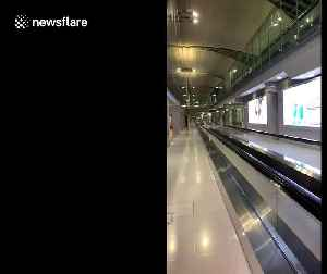 Bangkok airport deserted as government bans tourists amid COVID-19 pandemic [Video]