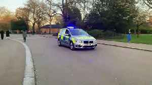 Police patrolling Victoria park in London amid lockdown [Video]