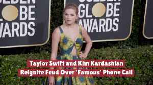 Taylor Swift And Kim Kardashian Are Fighting Again [Video]