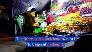India Puts 1.3 Billion People on Lockdown for 21 Days [Video]