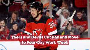 76ers And Devils Cut Pay [Video]