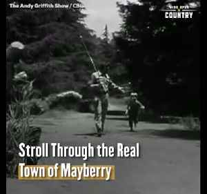 Stroll Through the Real Mayberry from 'The Andy Griffith Show' [Video]