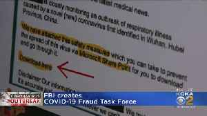 News video: FBI Creates Coronavirus Fraud Task Force