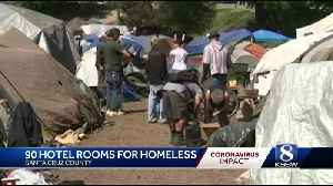 Santa Cruz looks to secure hotel rooms for the homeless during outbreak [Video]