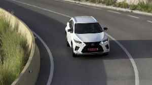 The new Lexus RX450h F Sport in White Trailer [Video]