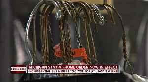 News video: Non-essential businesses to close in Michigan to close for at least 3 weeks
