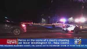 Police Investigate Scene Of New Castle Shooting [Video]