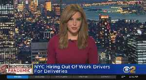 NYC Hiring Out-Of-Work Drivers [Video]