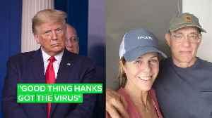 Michael Moore claims Trump was happy Tom Hanks got coronavirus [Video]