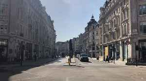 News video: London's Oxford Street deserted after UK lockdown