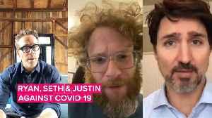 Justin Trudeau gets Canadian celebs to join #PlankTheCurve challenge [Video]