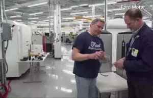 News video: Ford now making face shields, masks