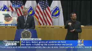 Gov. Baker Announces Text Message Service For Coronavirus Updates [Video]