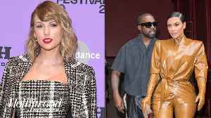 Kim Kardashian Calls Out Taylor Swift on Twitter | THR News [Video]