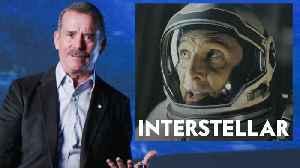 Astronaut Chris Hadfield Reviews Space Movies, from 'Gravity' to 'Interstellar' [Video]