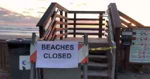News video: San Diegans Could Face Fine, Jail Time if They Violate Closure of Beaches, Parks