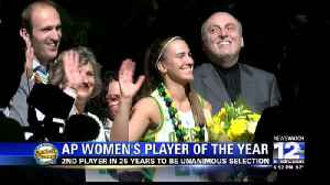 Ionescu unanimously voted AP women's player of the year [Video]